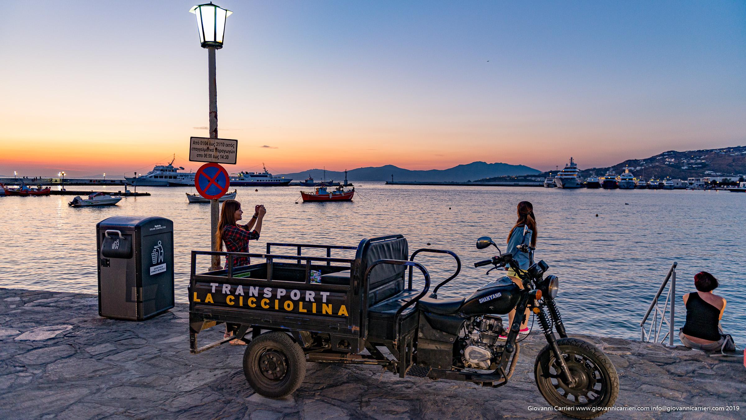 Trasporti La Cicciolina - Mykonos