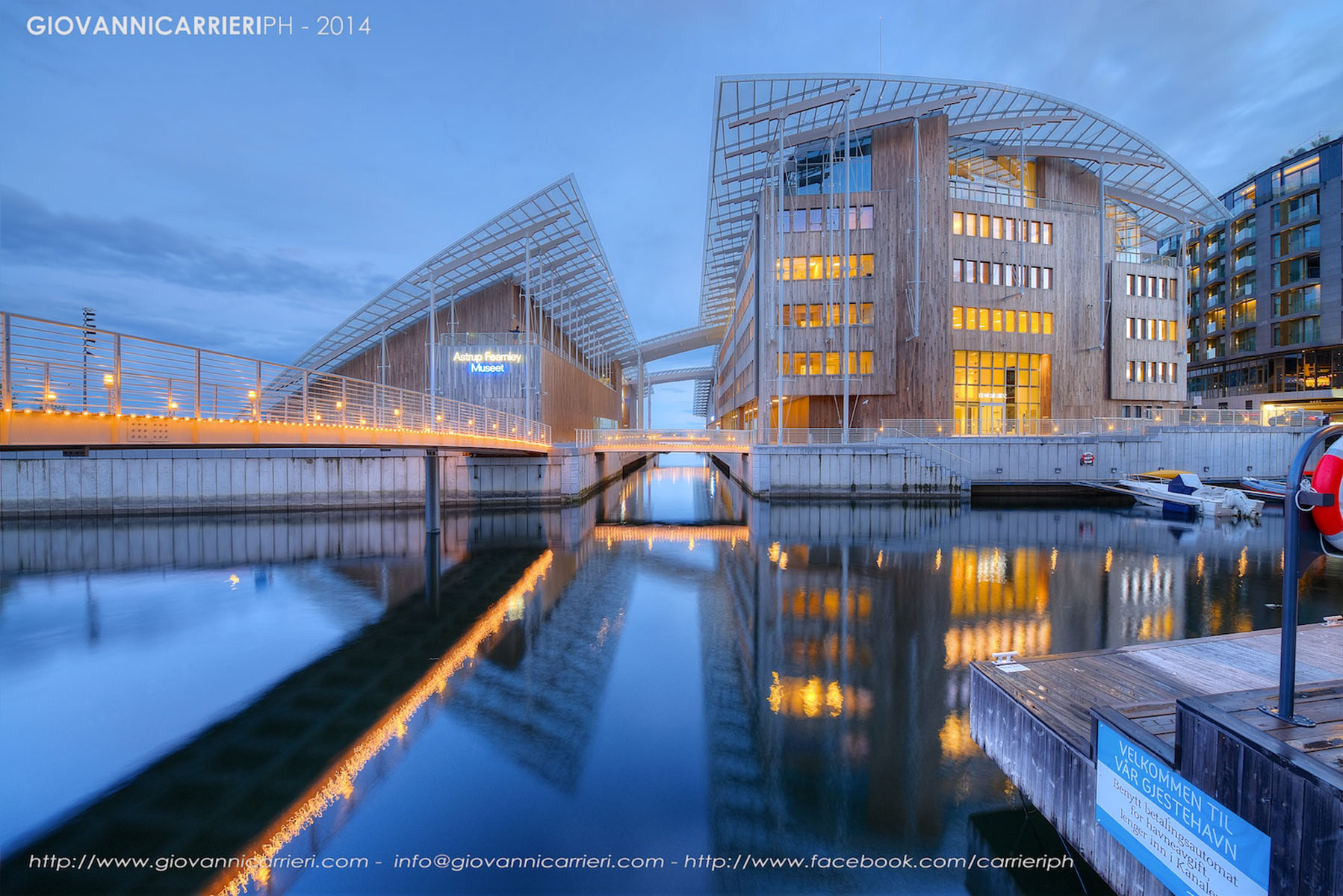 Il museo Astrup Fearnley, Oslo