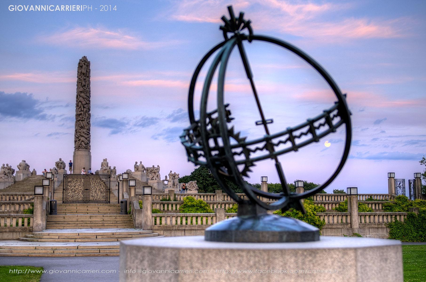 Orologio Solare di Gustav Vigeland