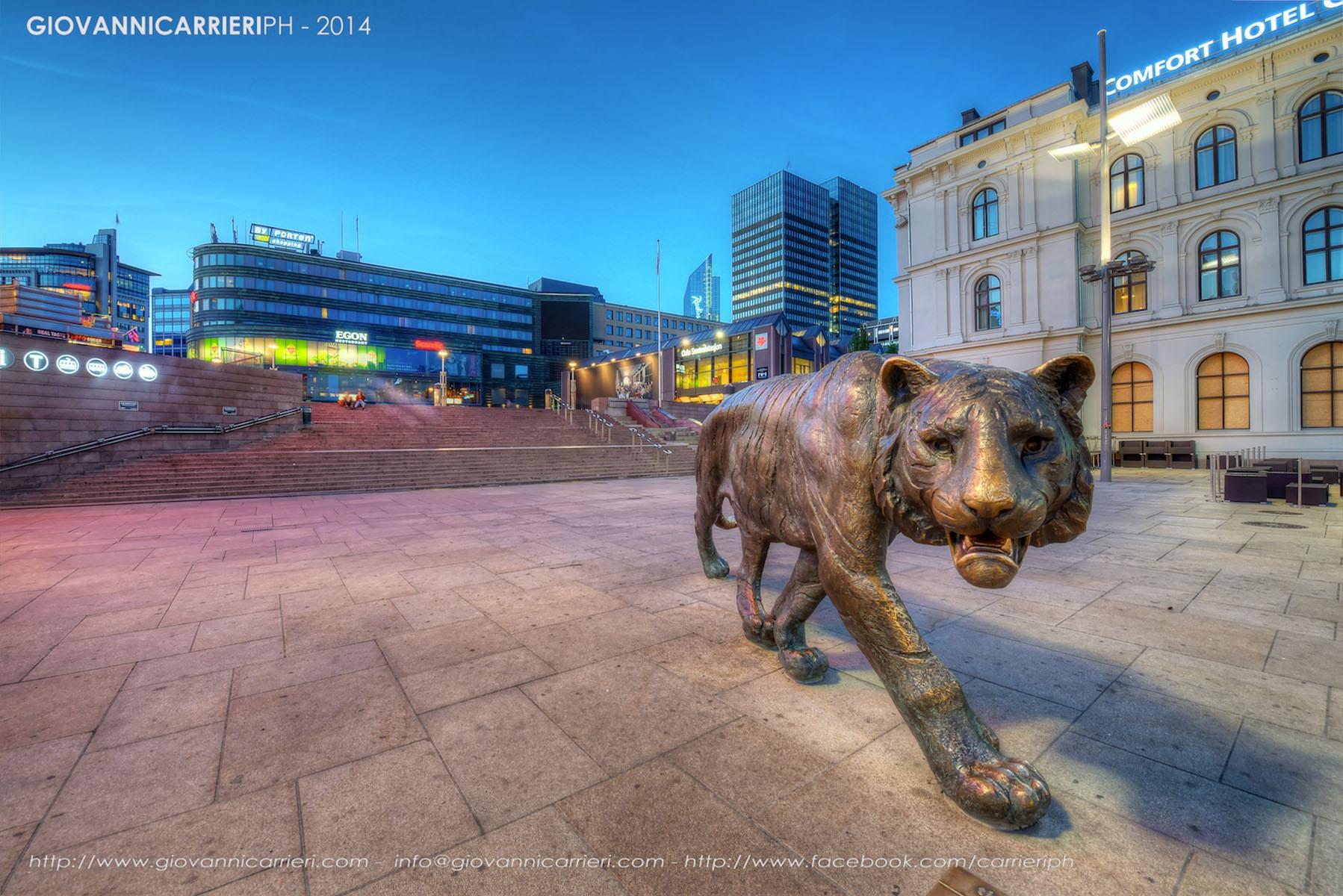 La stazione centrale di Oslo