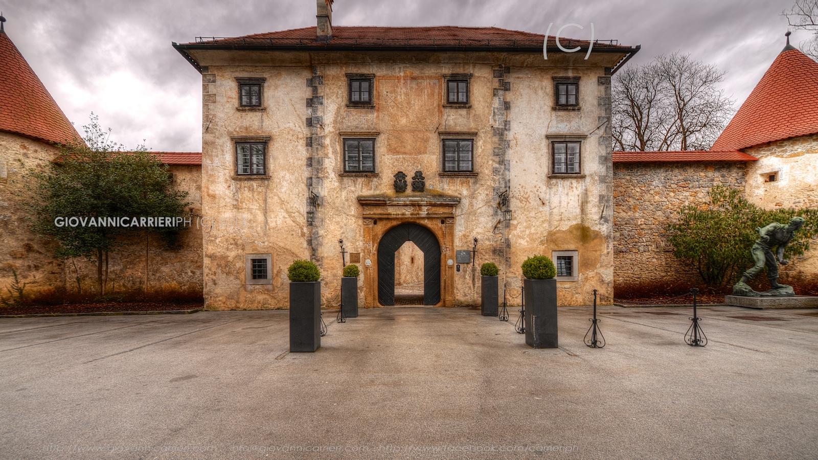 Entrata del castello di Otocec
