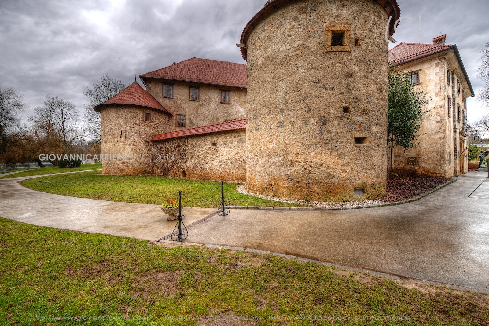 Le torri del castello di Otocec - Slovenia