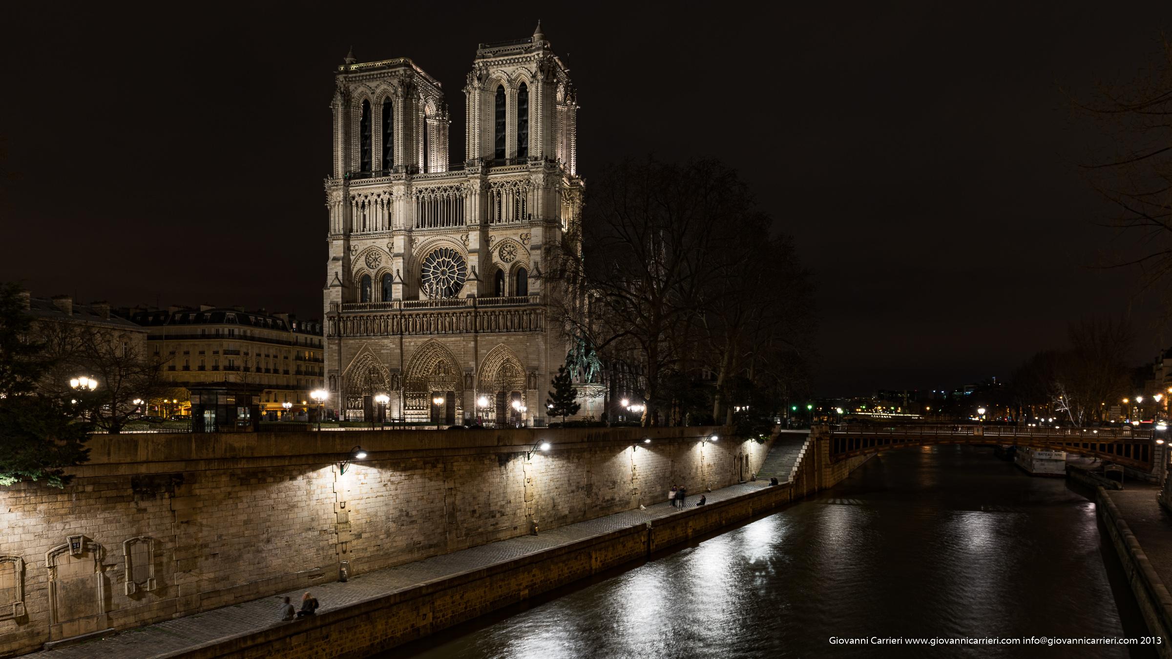 La cattedrale di Notre-Dame - Parigi