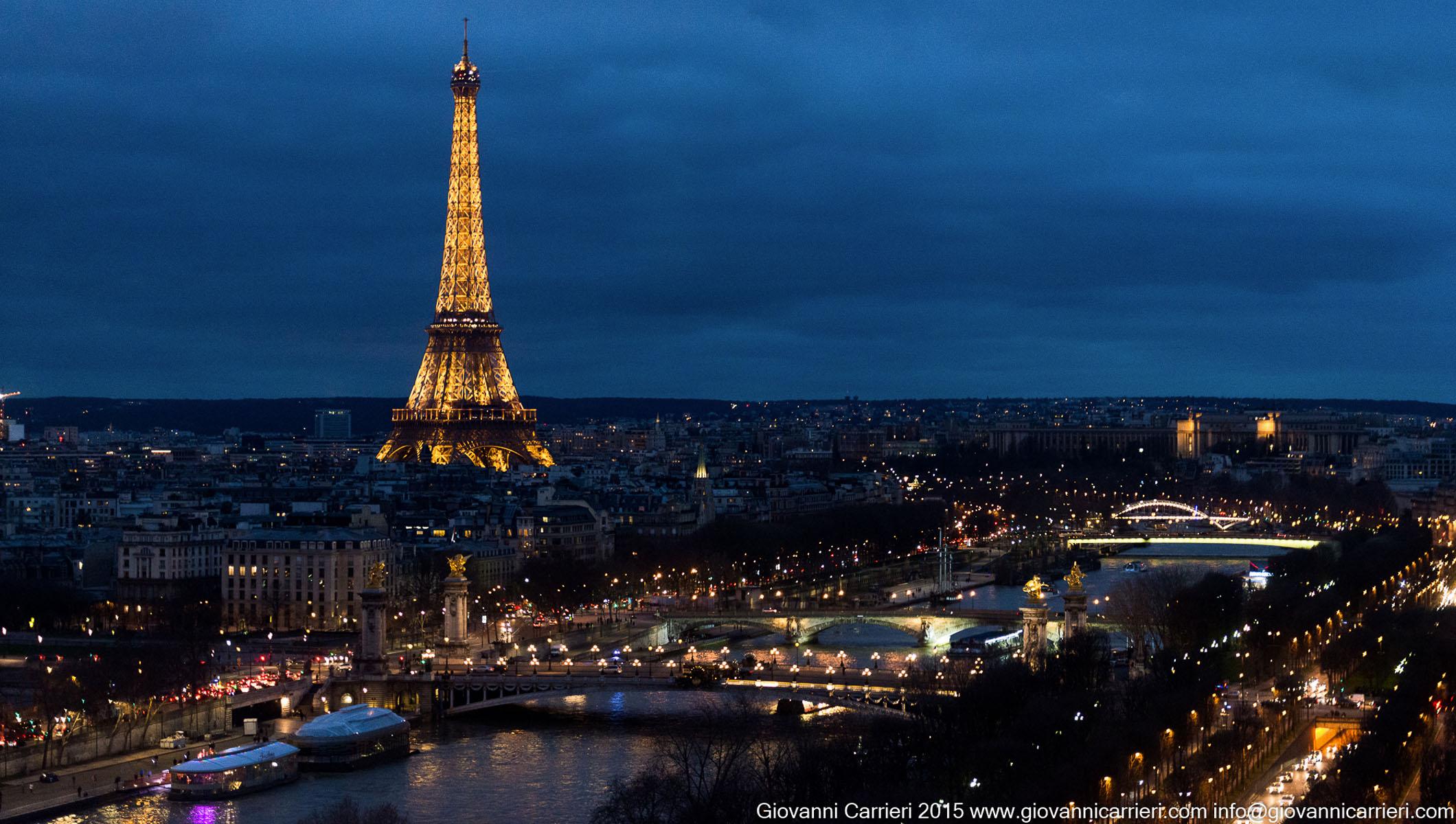 La Tour Eiffel e la Senna