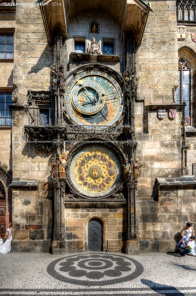 The clock tower - Prague