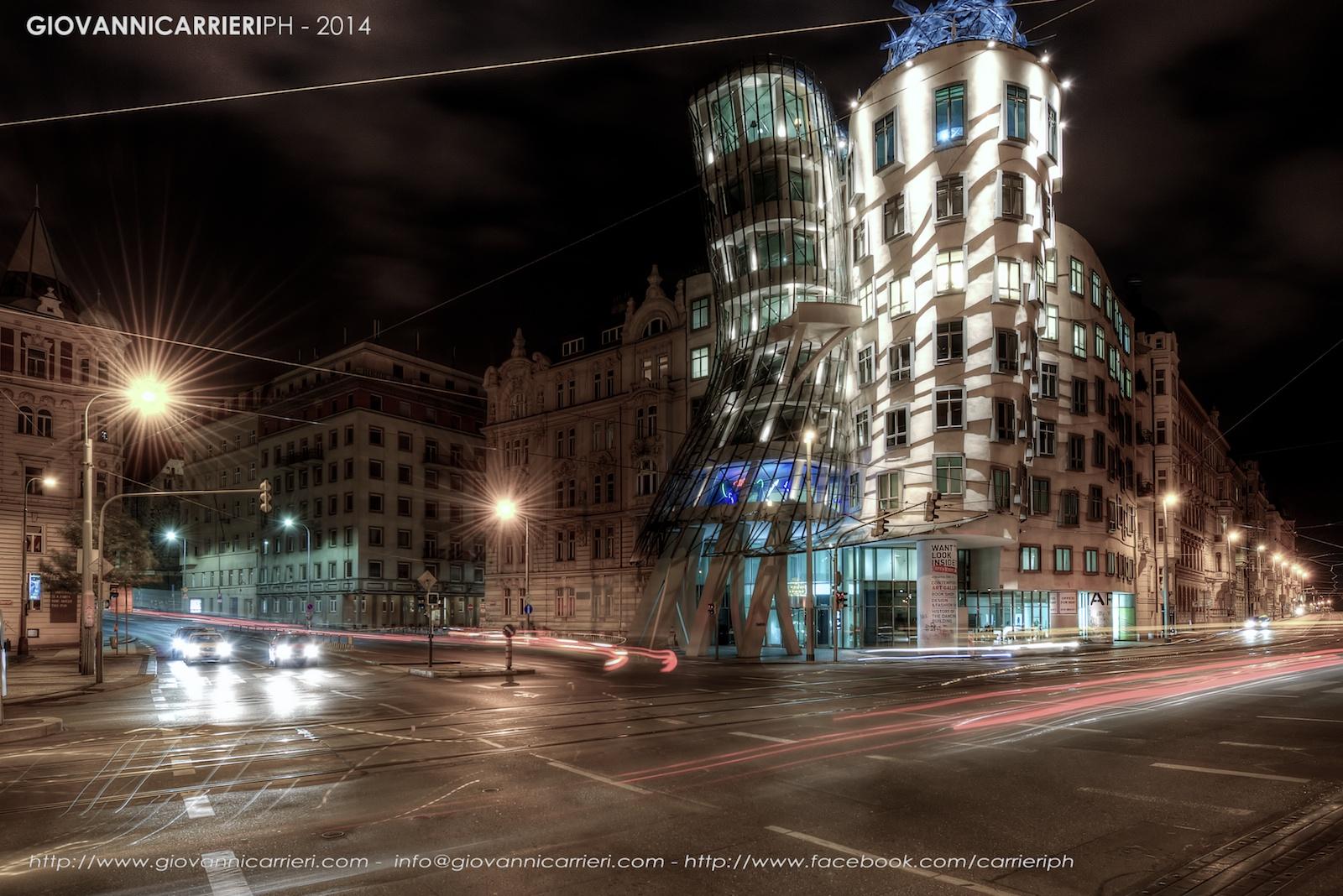 La casa danzante di Gehry - Praga