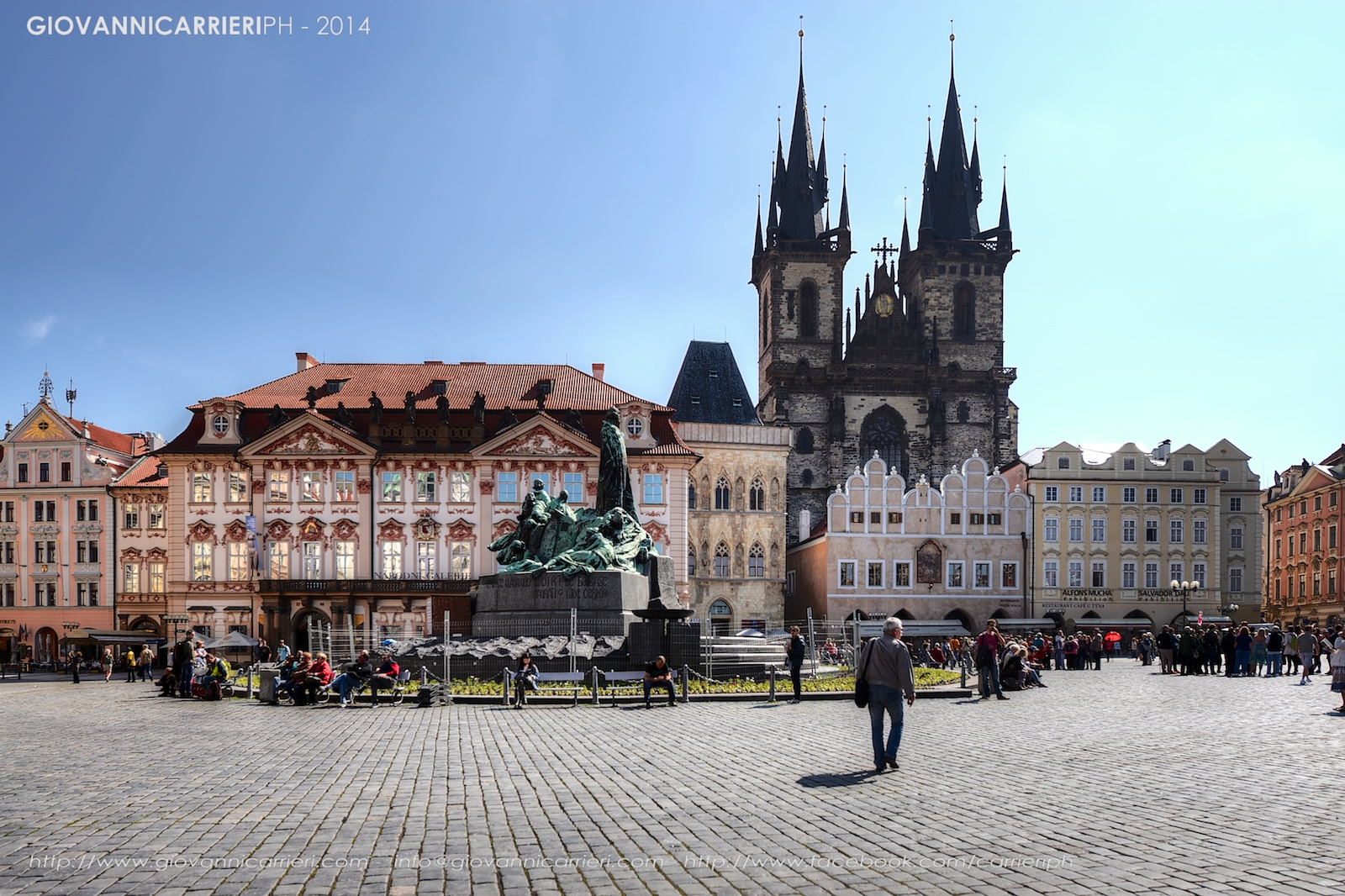 Il monumento di Jan Hus - Praga