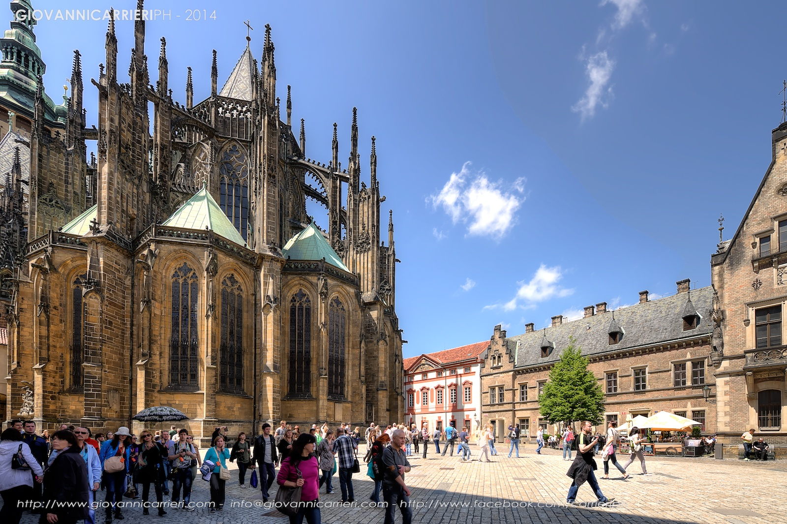 The St. Vitus Cathedral - Prague