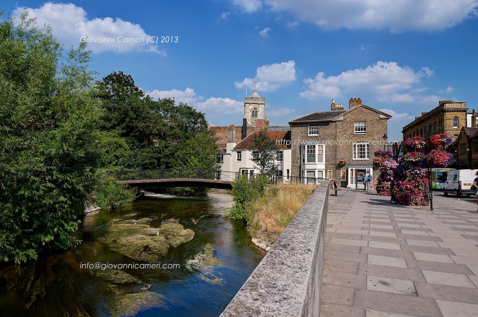 Il centro della città di Salisbury