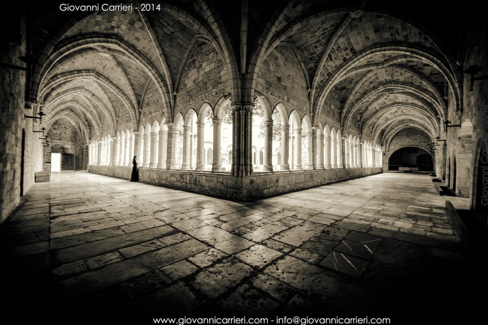 Il chiostro della Cattedrale di Santander