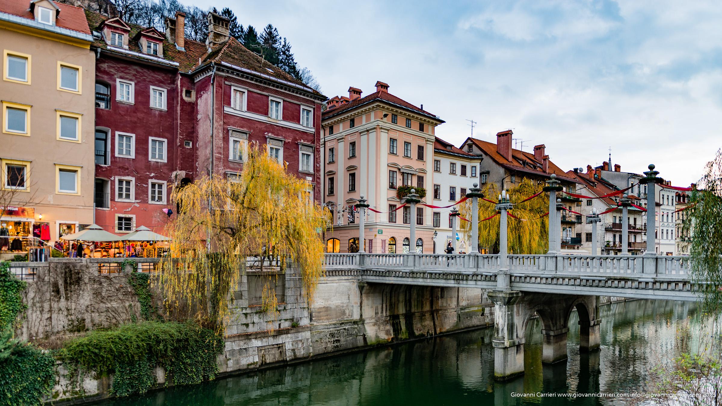 Sopra il fiume accanto a Lubiana - Lubiana