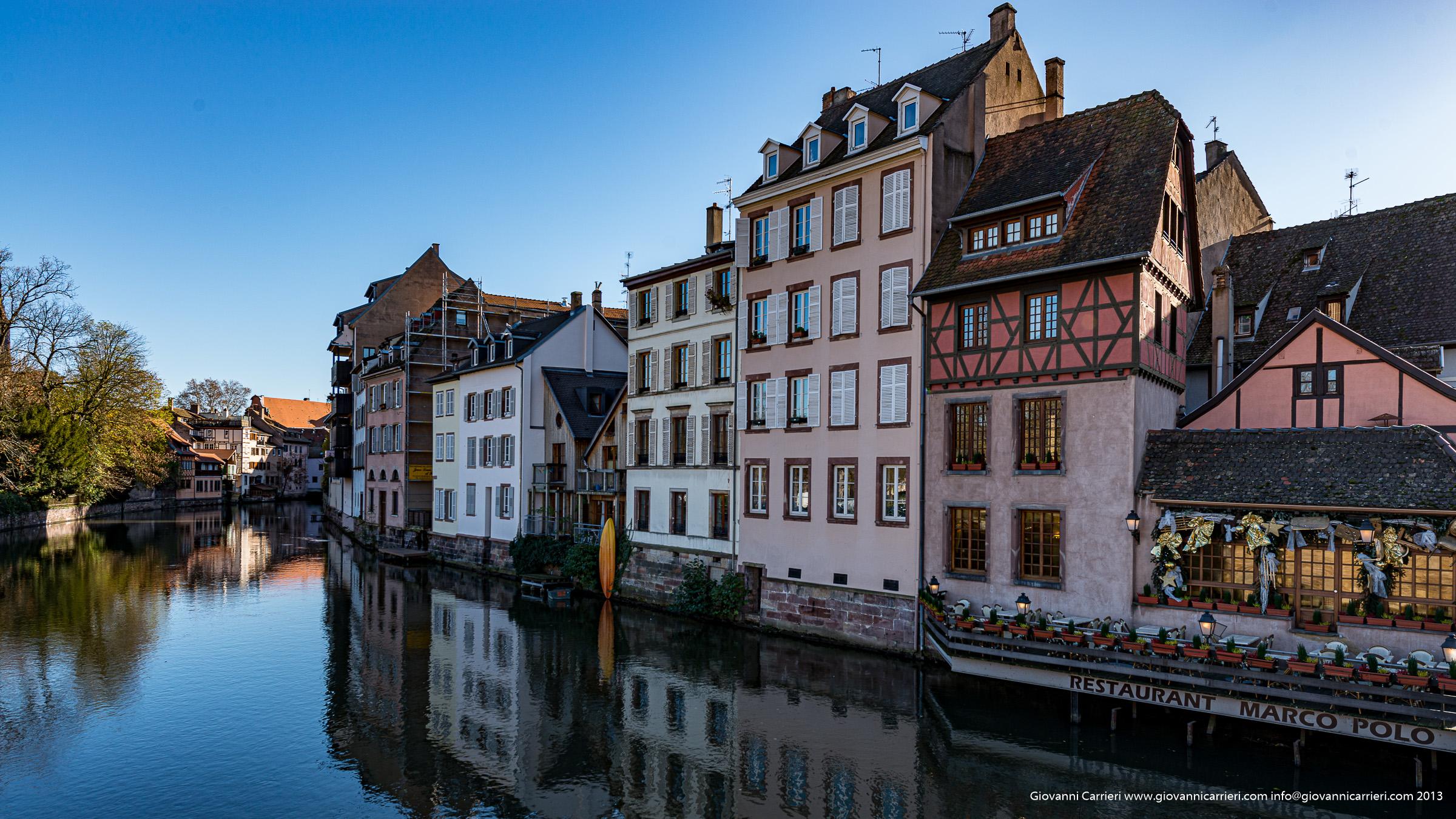 Il fiume Ill e la Petite France - Strasburgo