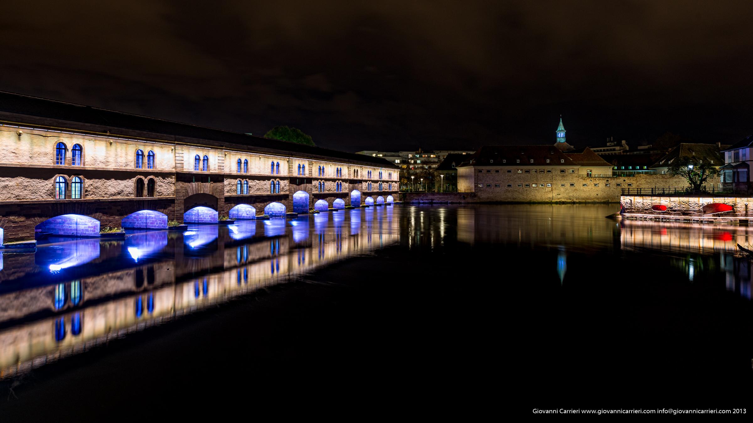Il ponte coperto - Petite France - Strasburgo