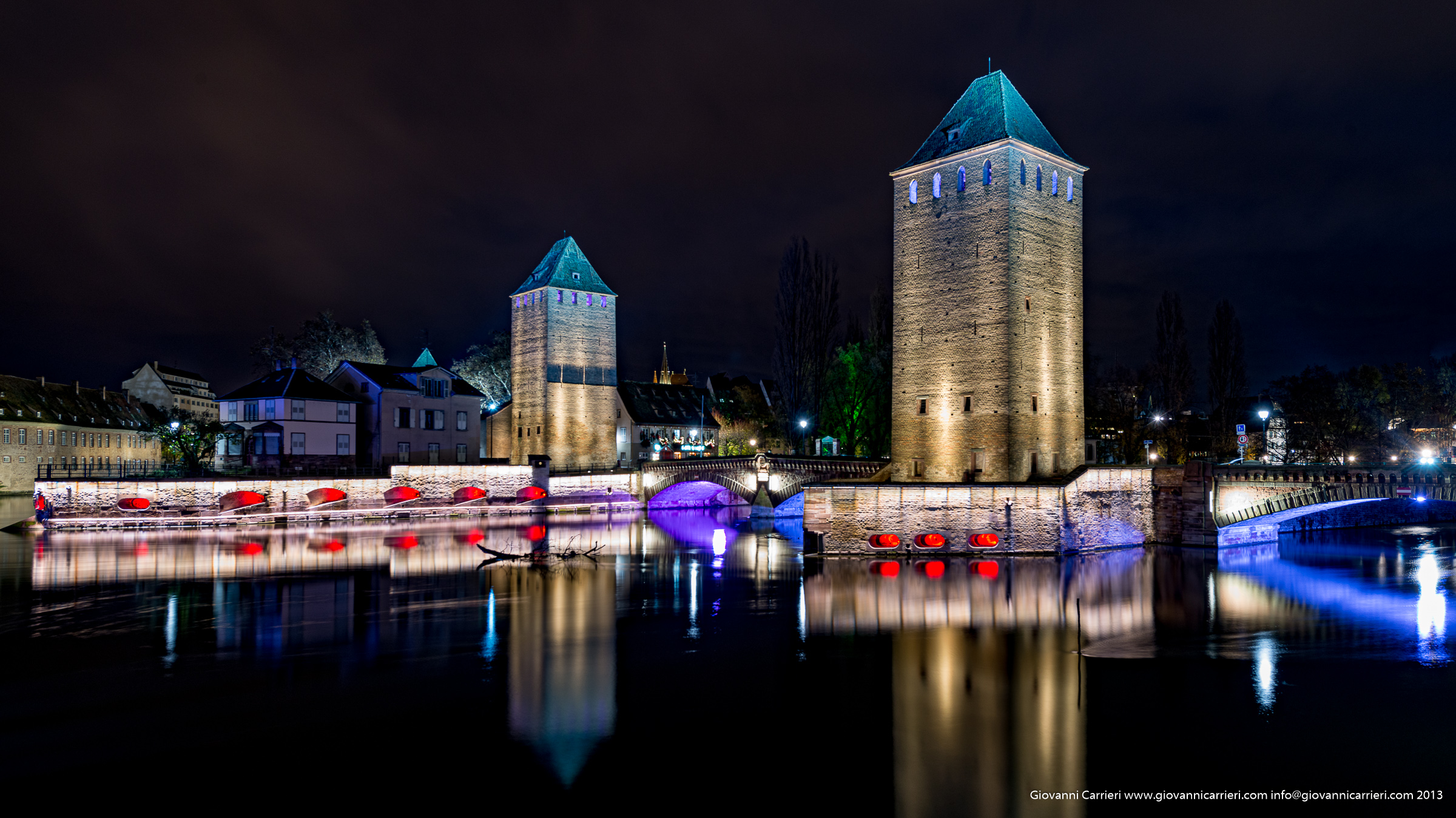 Petite France nocturnal view - Strasbourg