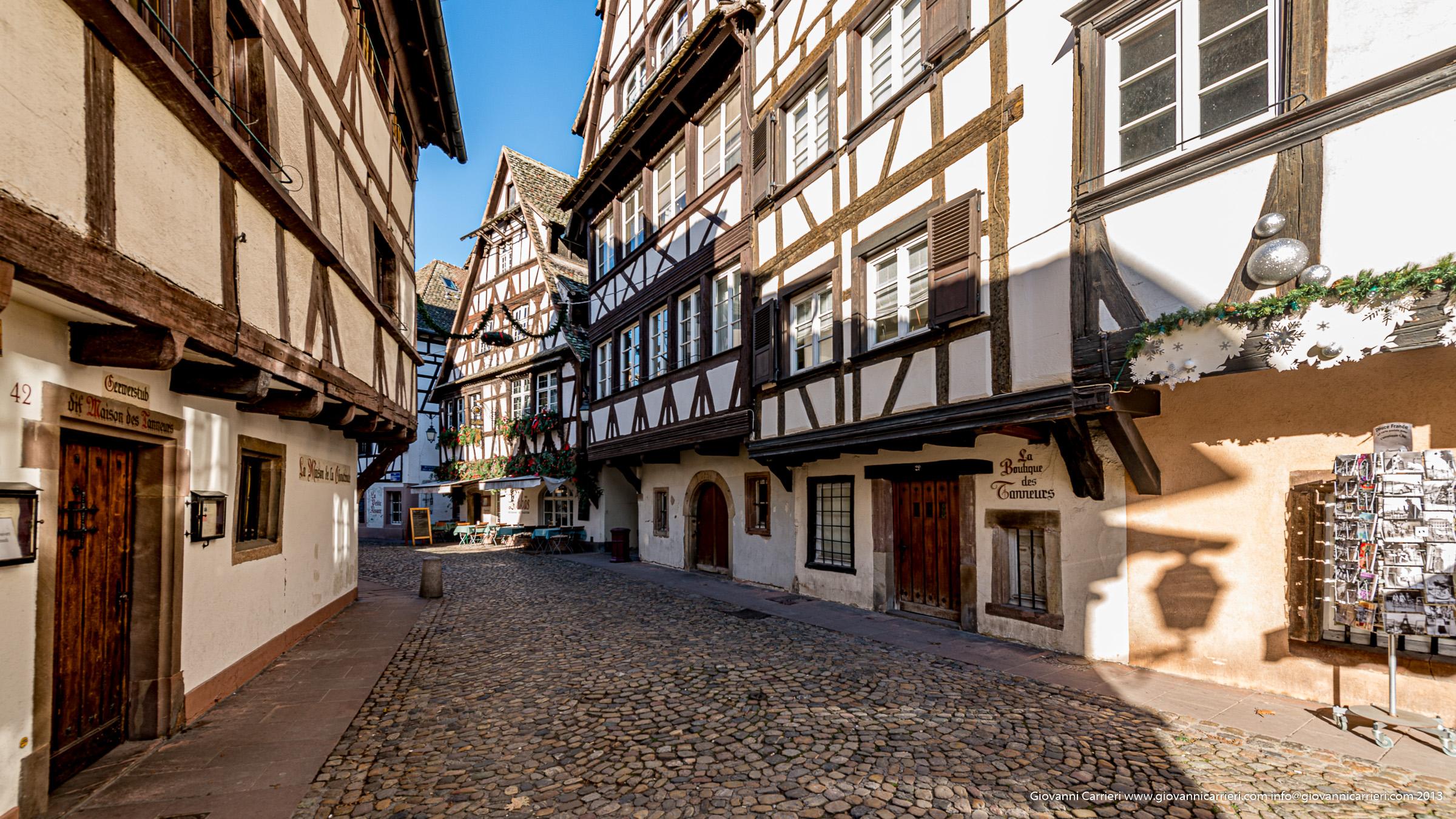 Camminando nella Petite France - Strasburgo