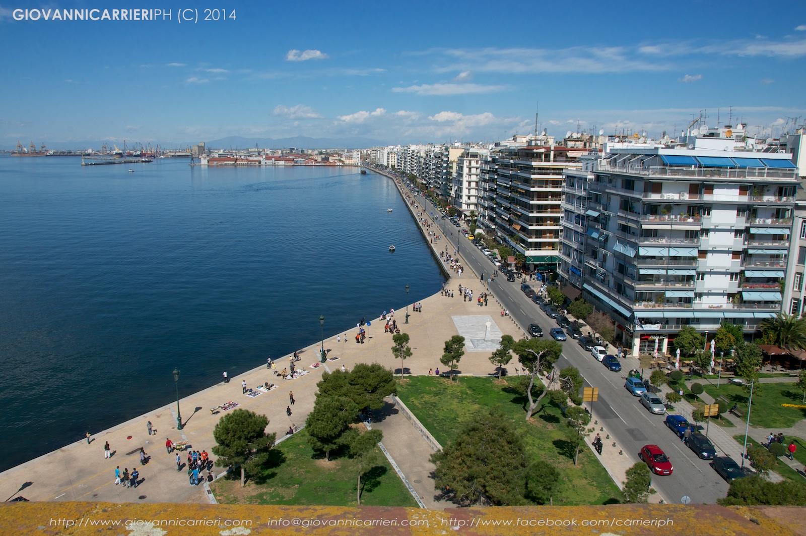 Vista panoramica di Salonicco