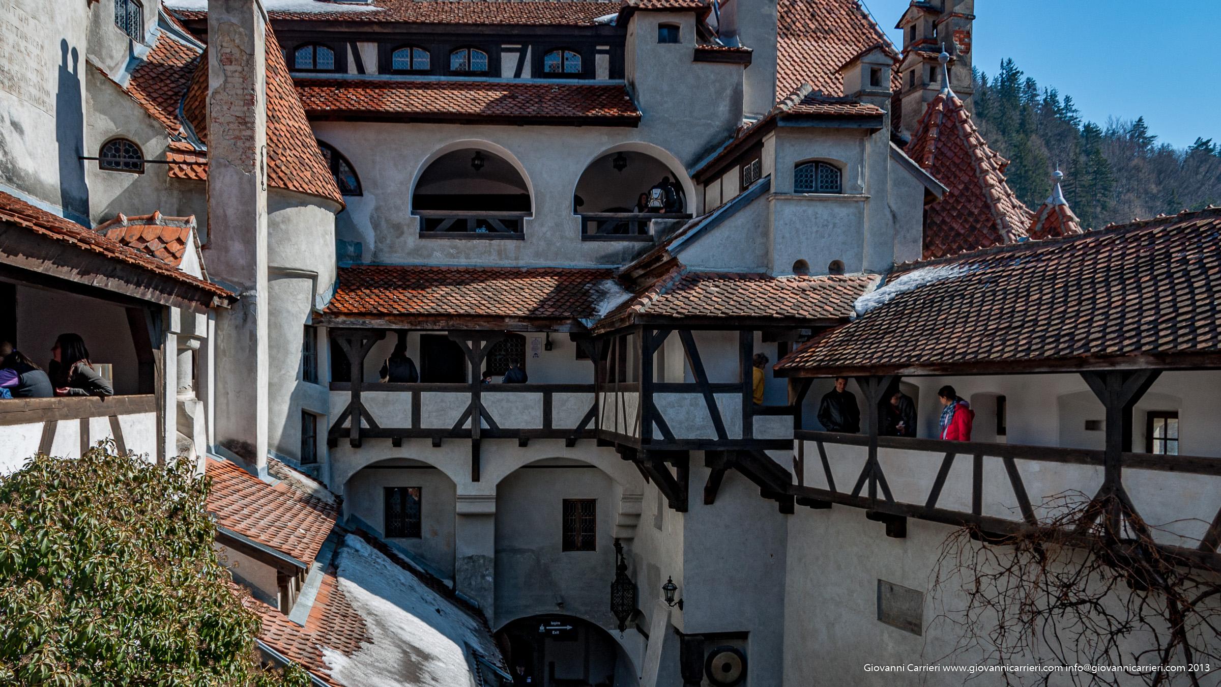 Il castello di Bran - Romania