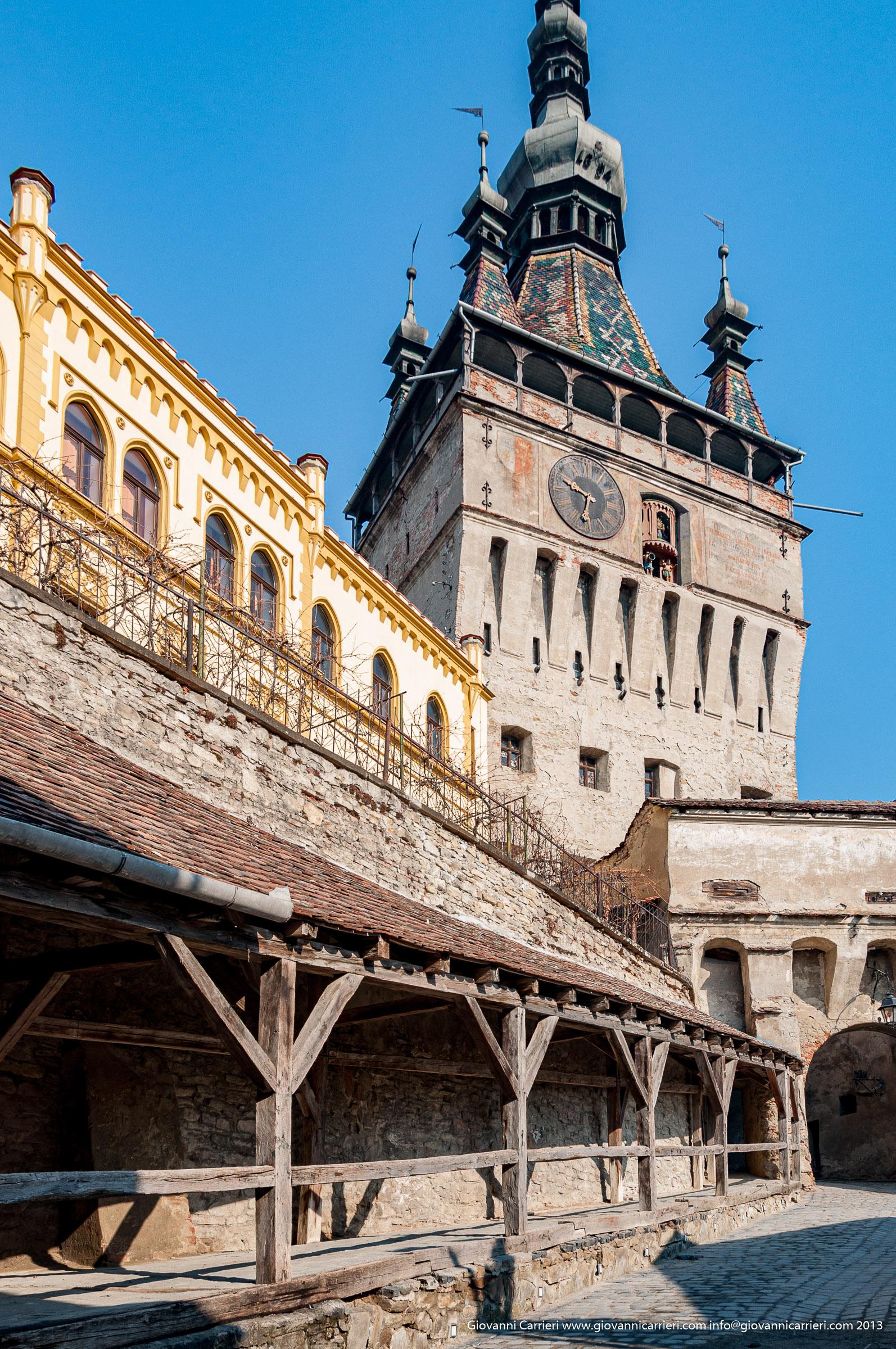 La torre dell'Orologio di Sighisoara - Romania