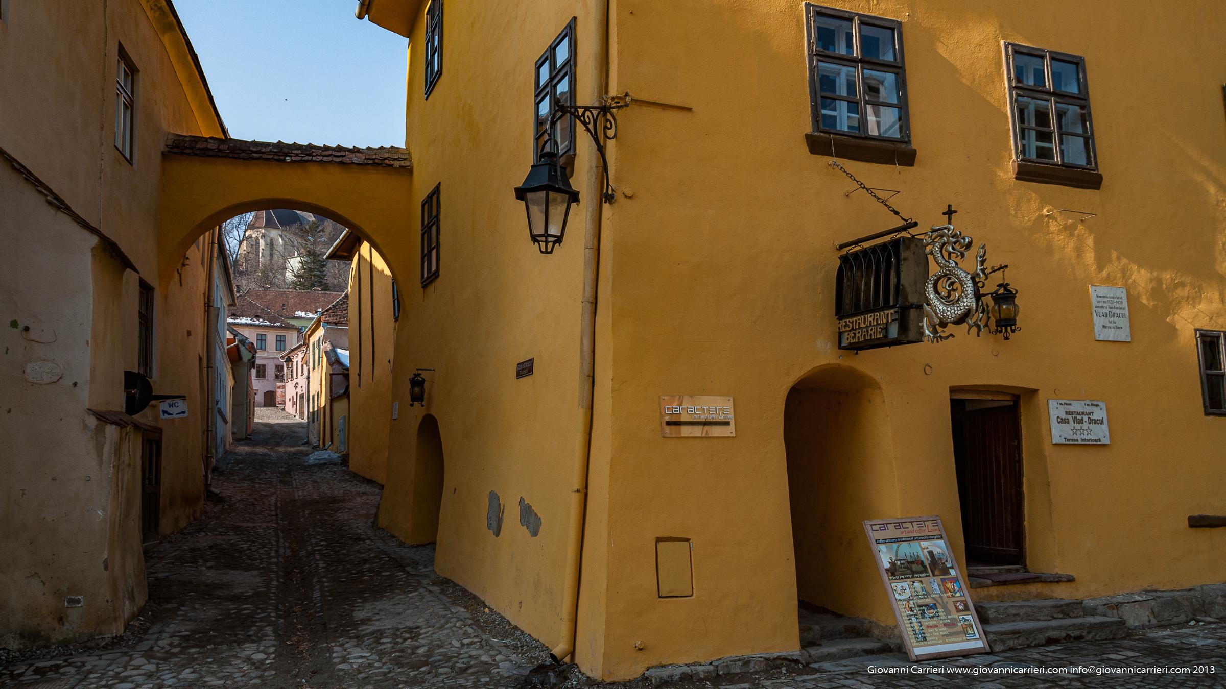 La casa di Vlad Tepes a Sighisoara