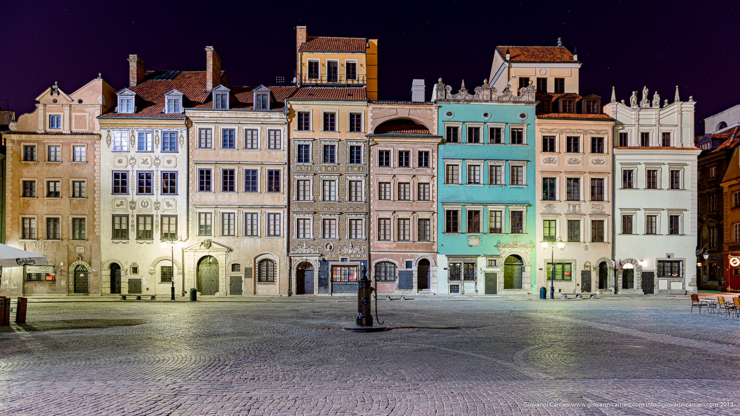 The market square - Warsaw