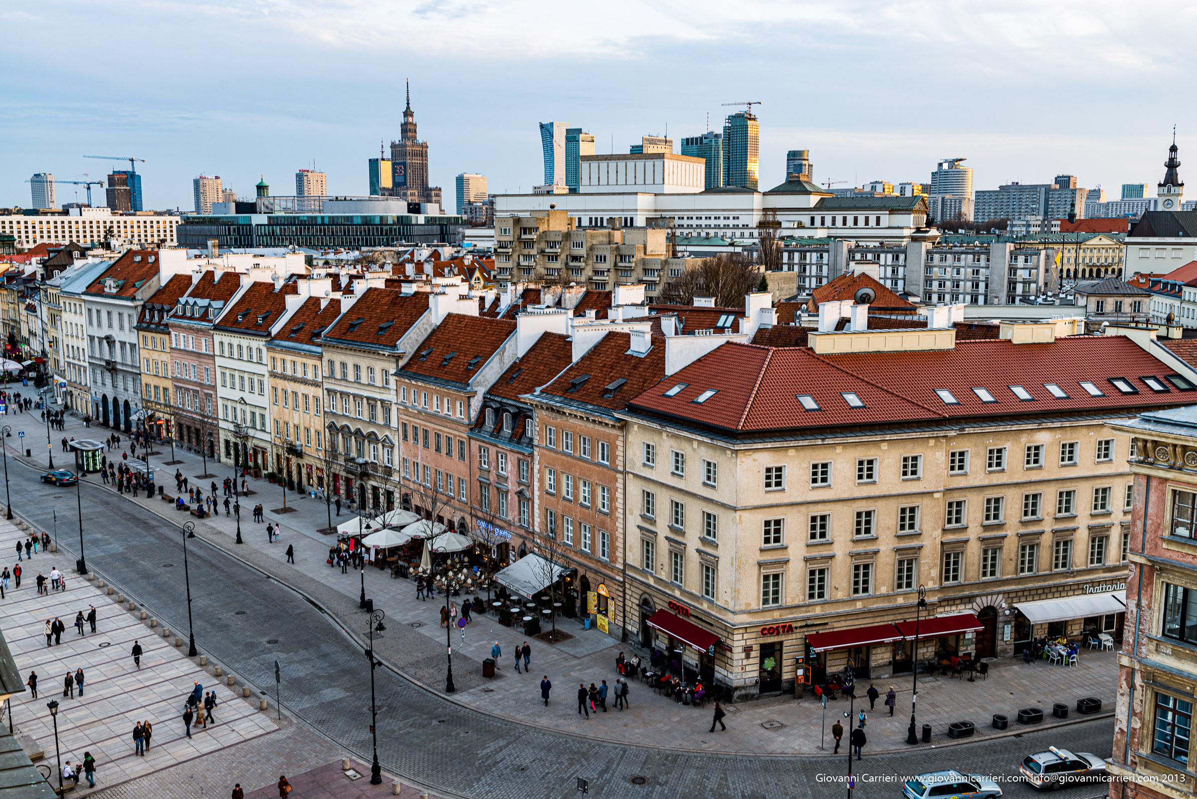 Vista su Miodowa - Varsavia