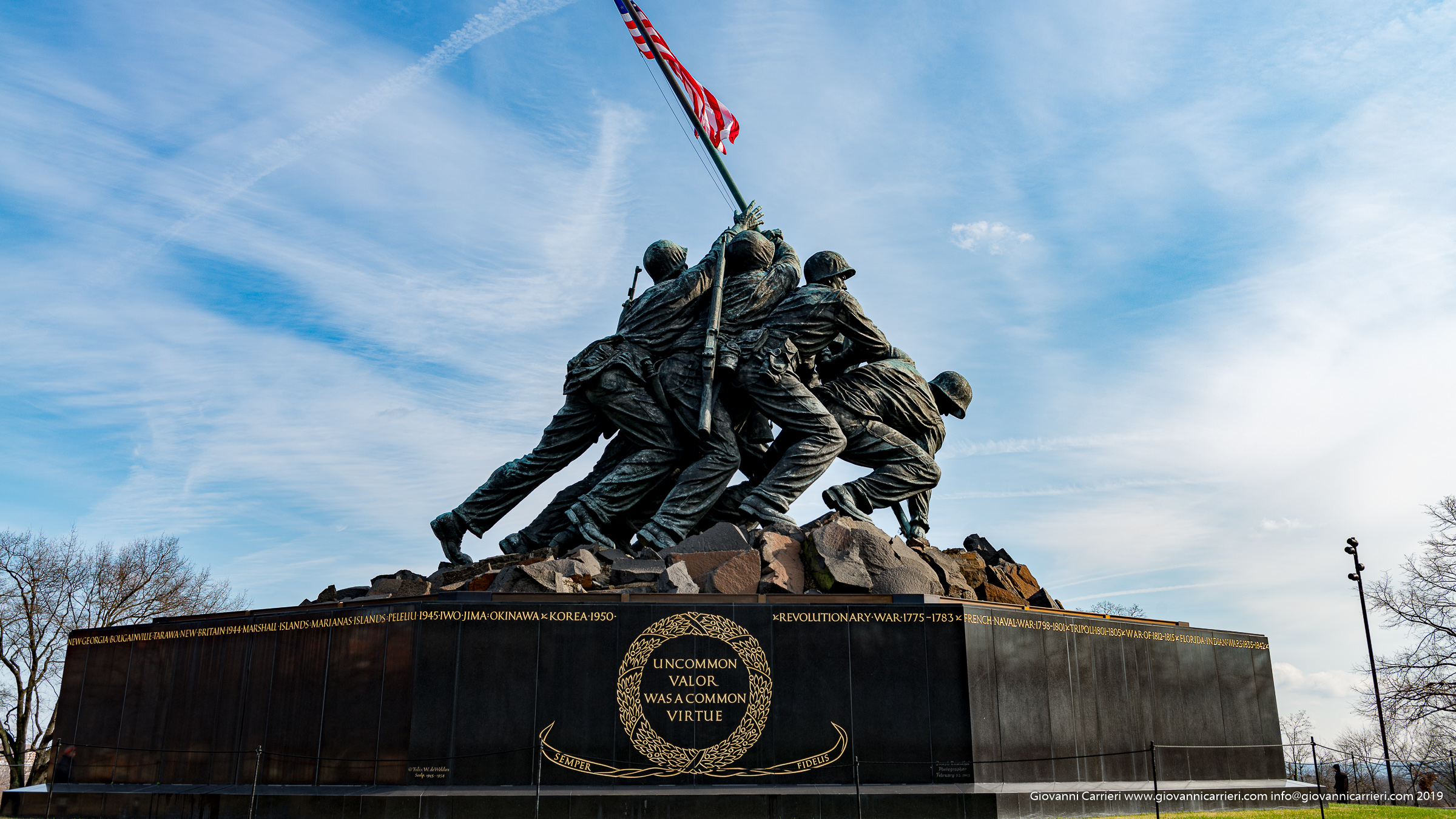 Il Memoriale di Iwo Jima - Washington DC
