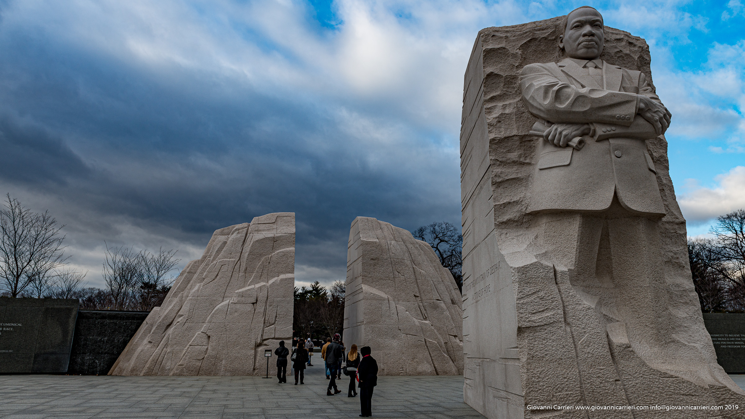 Il memoriale di Martin Luther King a Washington