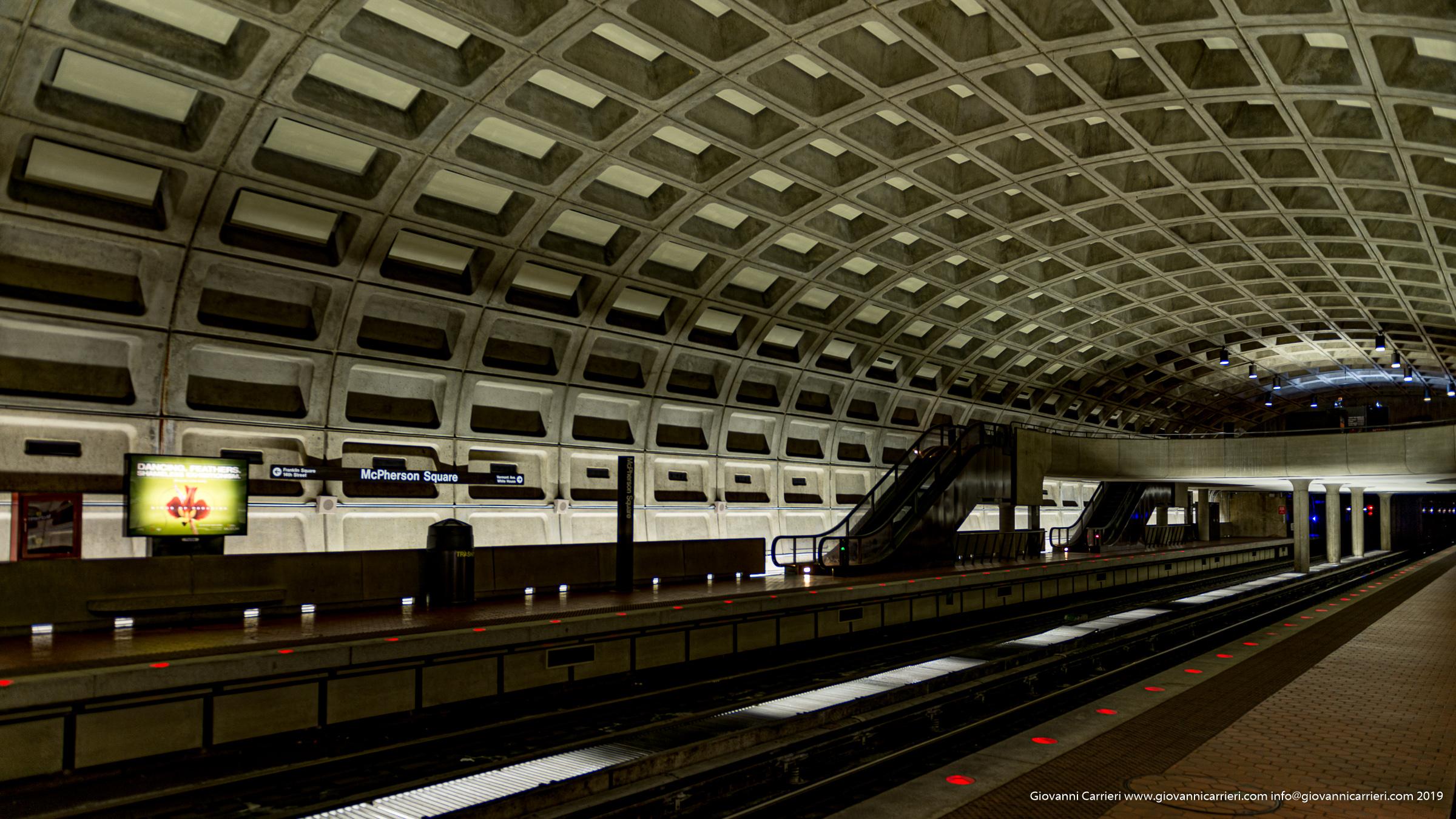 La stazione della metropolitana McPherson