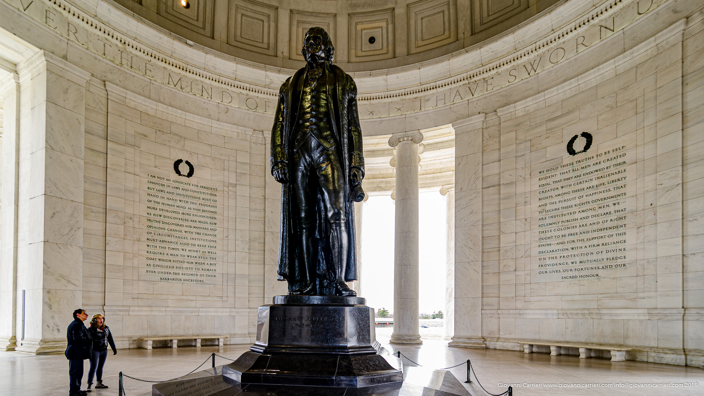 Il monumento a Thomas Jefferson