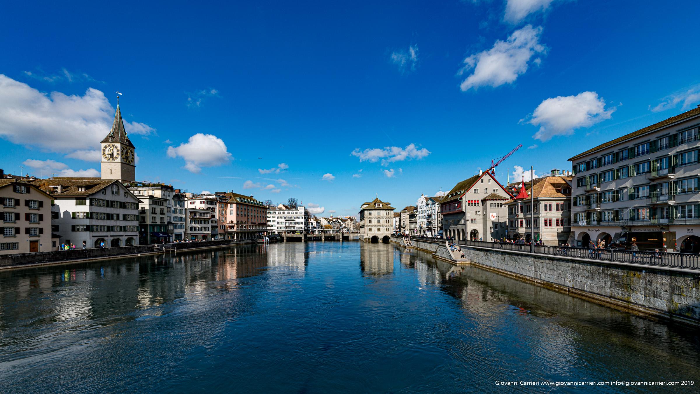 Il fiume Limmat - Zurigo