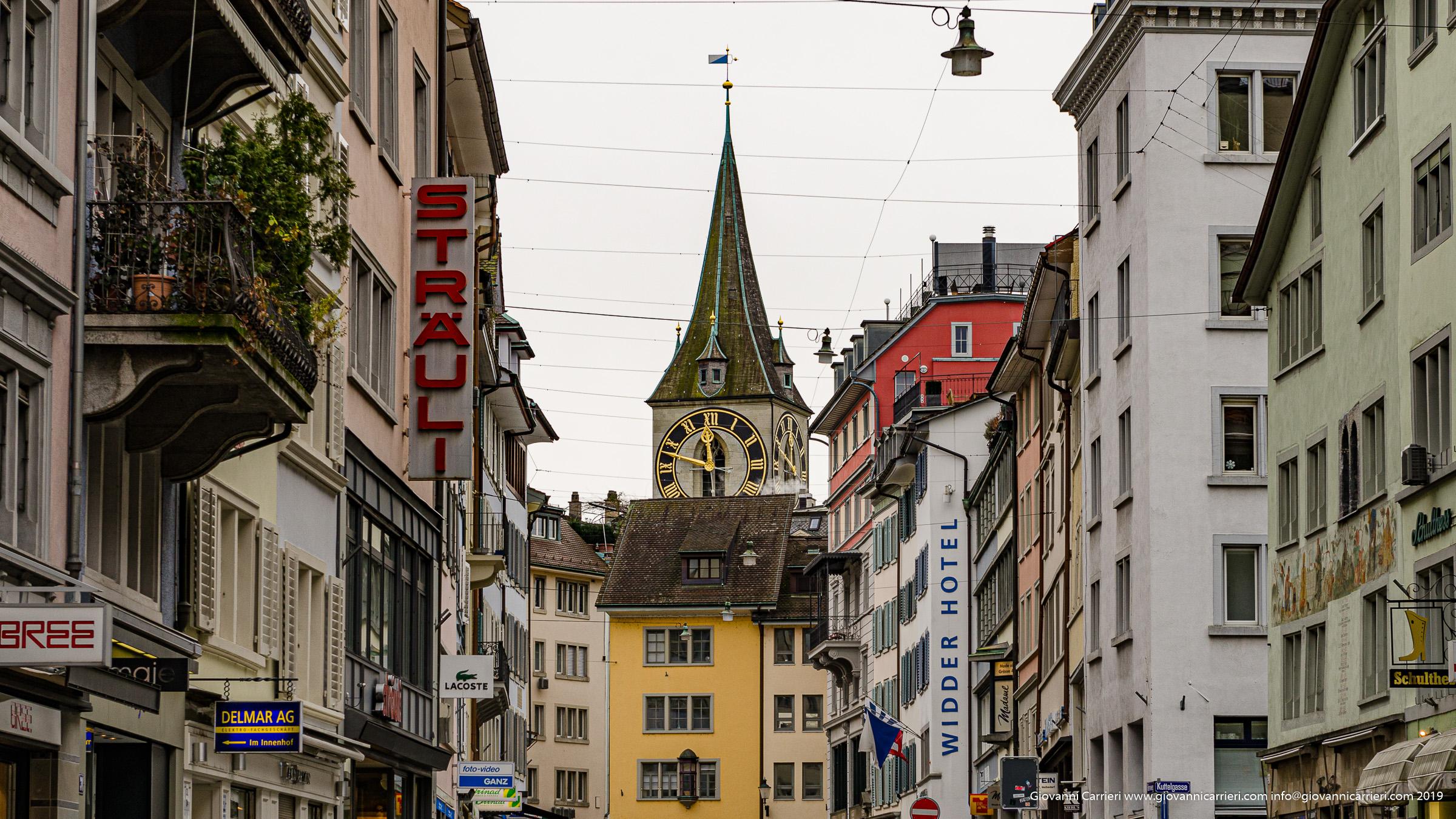 Via Rennweg - Zurigo