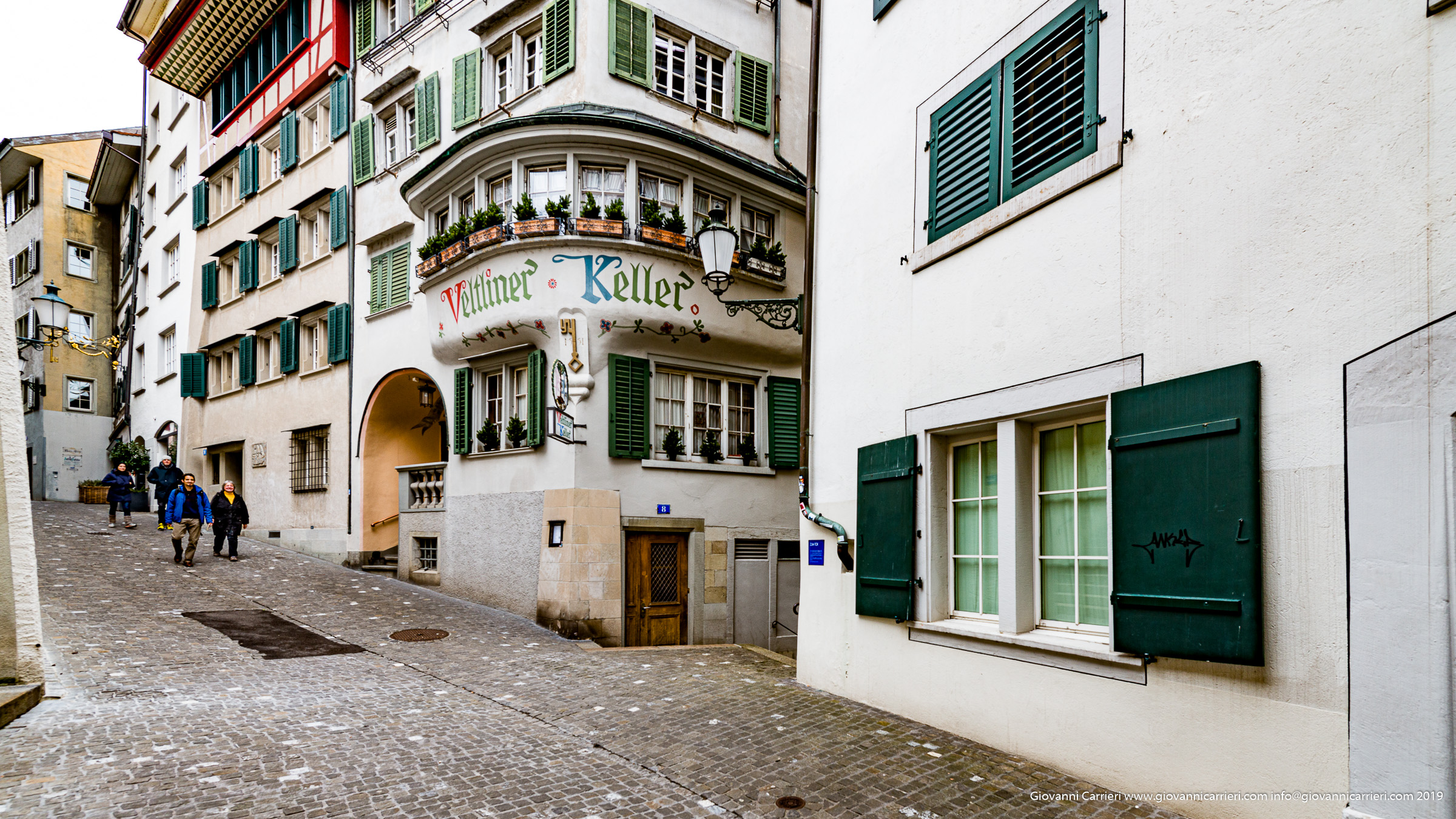 Centro città strade tipiche - Zurigo