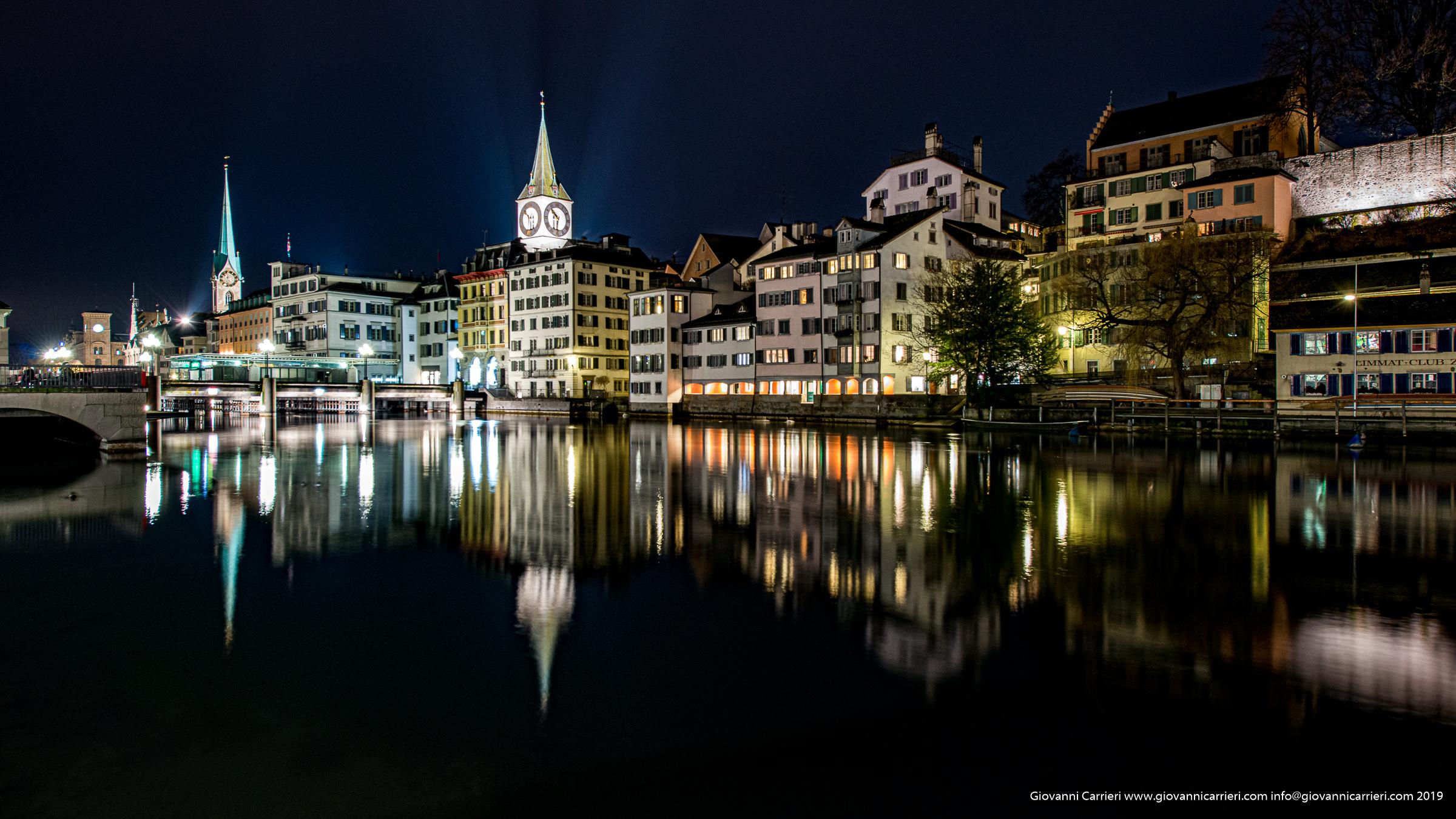 Zurigo ed il fiume Limmat